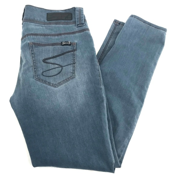 Seven7 Denim - Seven7 Stretch Denim Legging Blue Gray Size 10